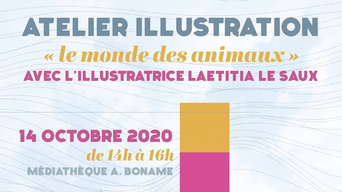 Atelier illustration avec Laetitia Le Saux